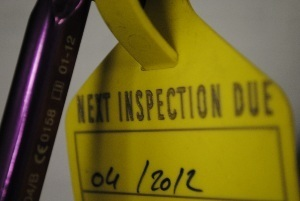 Link to Safety Harness Inspection Page.